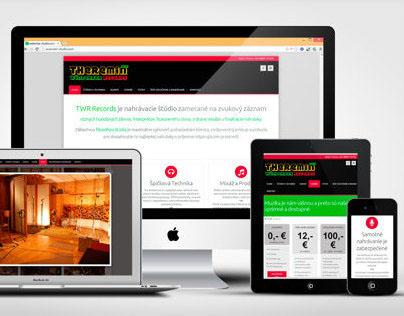 Theremin Wünderbar Records – Responsive Web Design