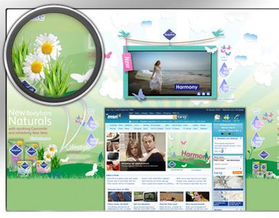SCA BODYFORM - Multichannel Advertising Campaign
