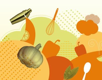Arquigraf a escuela de gastronom a azafr n on behance - Escuela de cocina azafran ...