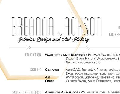 Portfolio: Resume Design