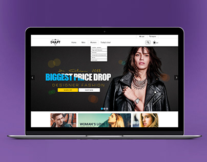 Sculpt_eCommerce Website