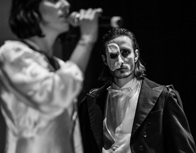 Phantom of the Opera - lattex mask