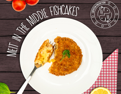 NORGE Fishcake Packaging