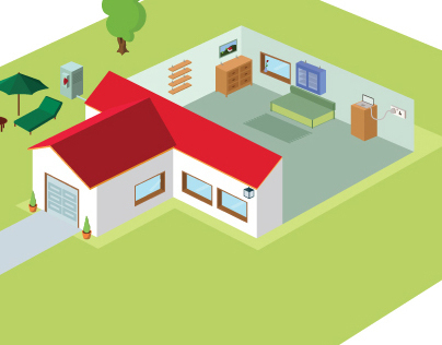 Isometric House Editorial
