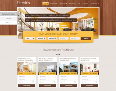 Estetico Premium Real Estate WP Theme