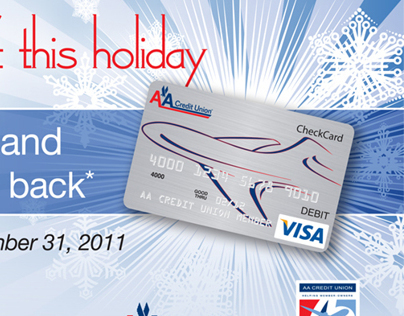 Holiday Activation and Retention Postcard