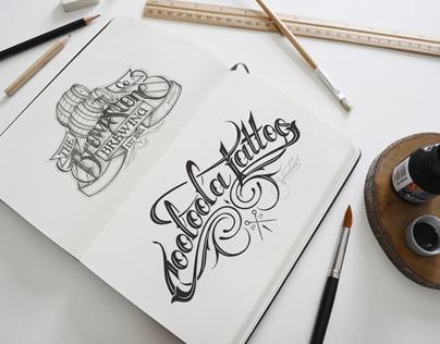 Artist Sketch Book Mock-up
