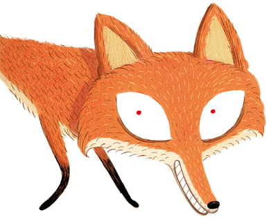 O raposo e a mestra.