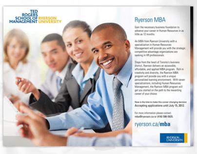 Ryerson University MBA AD