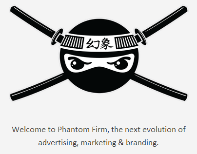 Phantom Firm Responsive Website
