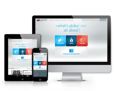 Capitec Bank Website