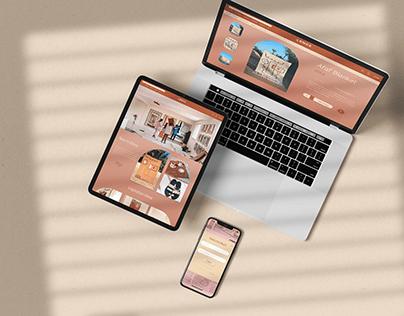 LRNCE Lifestyle Brand - Web Design