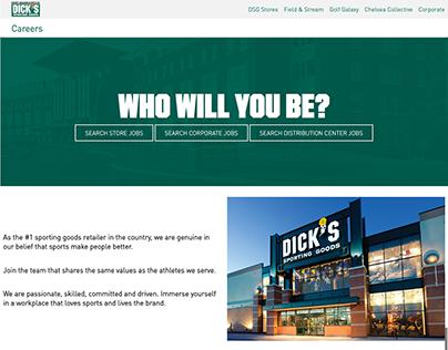 DSG Career Website Redesign