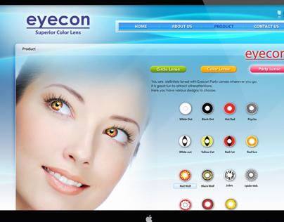 eyecon website