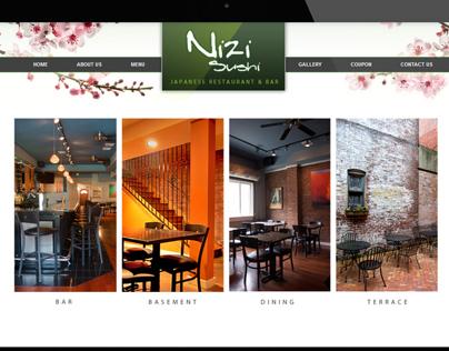 nizi-sushi website