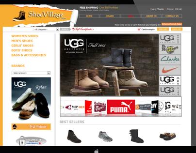 shoevillage Website