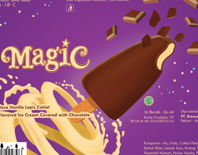 Magic Ice Cream Packaging