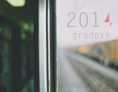 Places 2014 / Calendar