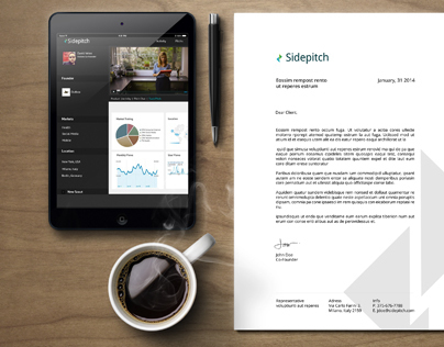 Sidepitch Brand and App Design