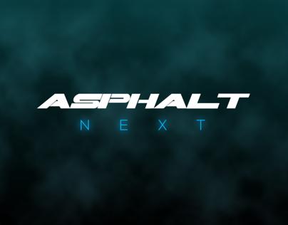 Asphalt Next - UI Test