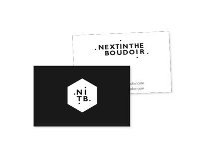 Logo et monogramme pour Next In The Boudoir