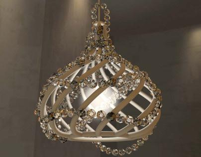 Pendant light design for brasserie in Paris