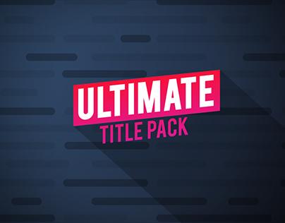 Ultimate Titles Package