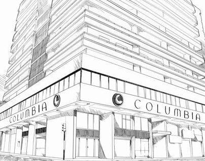 Drawing Universidad Columbia Paraguay