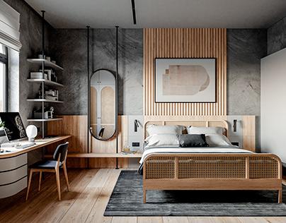 Soft Industrial Apartment