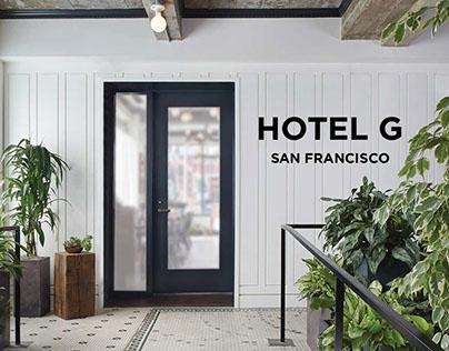 Hotel G 5x5 Tradeshow Cards