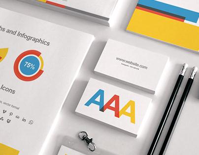 Branding Identity + Business Proposal Templates