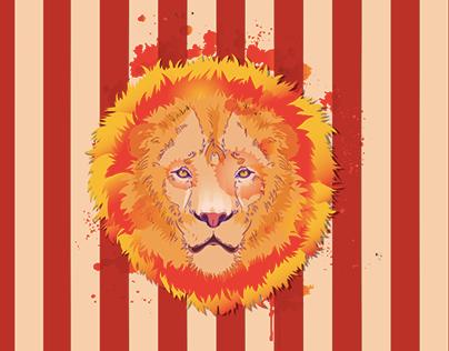 ILLUSTRATION- Lion