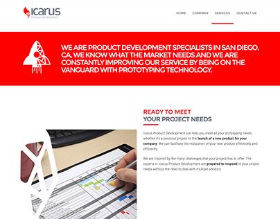ICARUS: Product Development