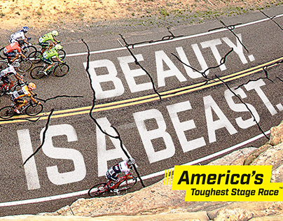Tour of Utah print ads