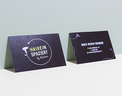 HAIREINSPAZIERT by Wiedner – Corporate Design