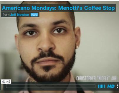 Americano Mondays: Menotti's Coffee Film + Gallery