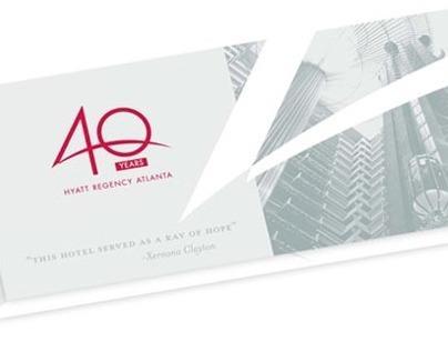 Hyatt Regency Atlanta 40th Anniversary