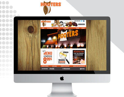 Websites Design / HOOTERS