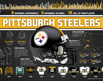 Pittsburgh Steelers Infographic