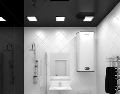 Bathroom Black&White