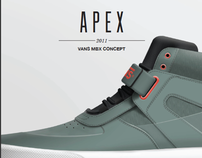 Vans Apex | Mountain Bike Concept Shoe
