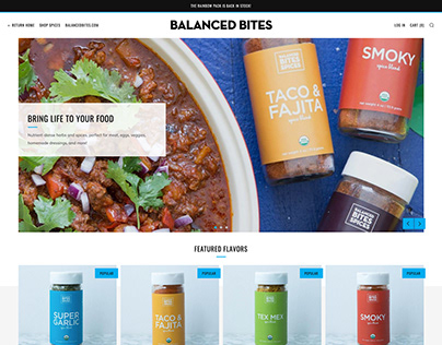Balanced Bites - Shopify