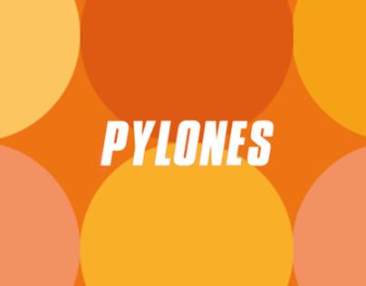 PYLONES   Playful Cat Print Campaign