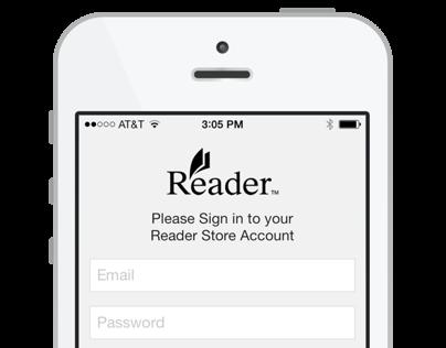 Sony Reader for iOS7