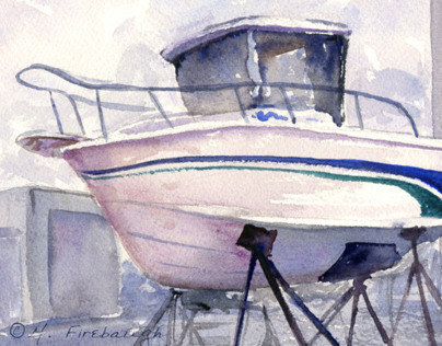 Plein Air Watercolors