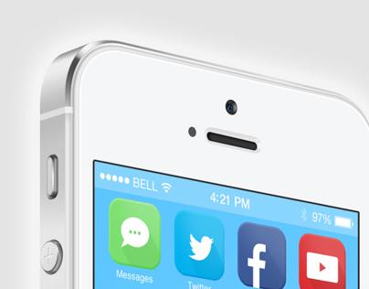 iOS 7 Flat App Icons | Martin Huggett