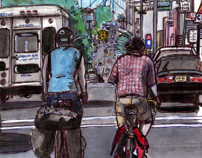 Breaking Out of Brooklyn (a graphic novel in progress)