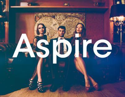 Aspire magazine design
