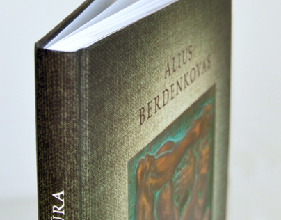 "Book ""Alius Berdenkovas. Sculpture"""