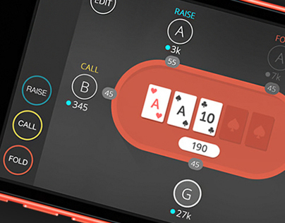 Easy Poker App - iOS & Android